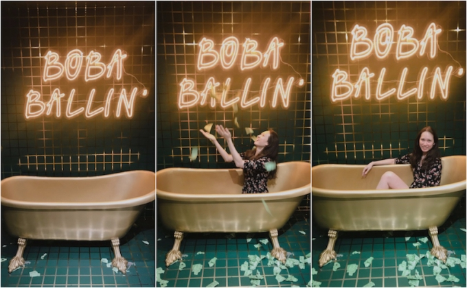 boba ballin collage